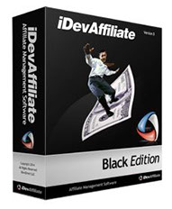 iDevAffiliate software per affiliate marketing Black edition